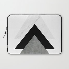 Arrows Monochrome Collage Laptop Sleeve