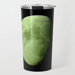 4K Dark Side of the Moon Lime Green Travel Mug