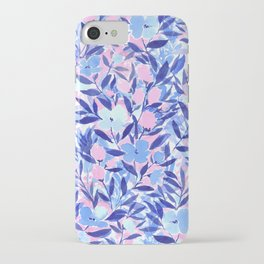 Nonchalant Blue iPhone Case