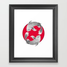 Japanese Essense Framed Art Print