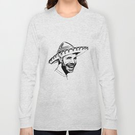 Drake in Sombrero Long Sleeve T-shirt