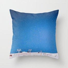 Gudauri Georgia Throw Pillow