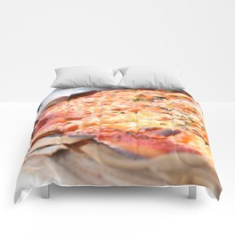 Pizza! Comforters