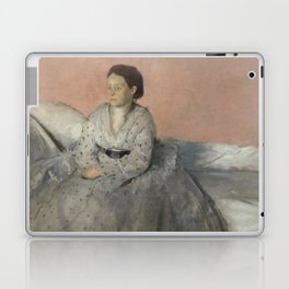 Portrait of Madame René de Gas Laptop & iPad Skin