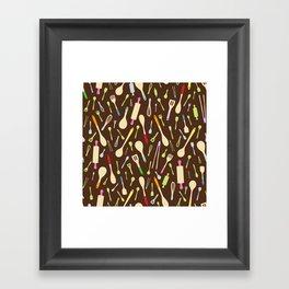 Wooden Wonders Framed Art Print