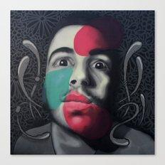 Colour Pressure autorretrato Canvas Print