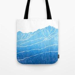 Colorado Mountain Ranges_Breckenridge Tenmile Range Tote Bag