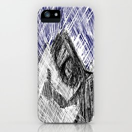 HitchHiker at Night iPhone Case