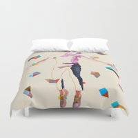 queer Duvet Covers featuring Midsumma by Kim Leutwyler