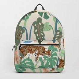 Monstera Jungle Backpack