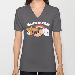 GF Loaves Unisex V-Neck
