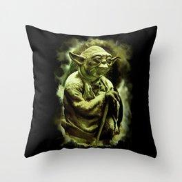 Grand Master Yoda Throw Pillow
