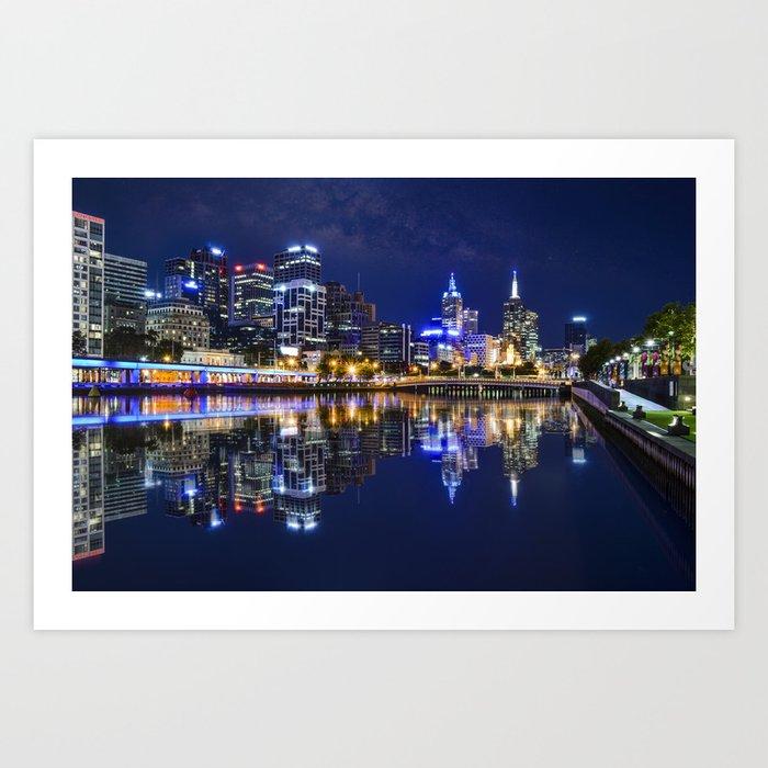 Melbourne Art Print