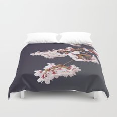 Cherry Blossoms (illustration) Duvet Cover