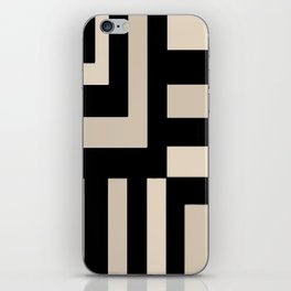 Black and Tan iPhone Skin