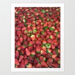 Strawberry Song Art Print