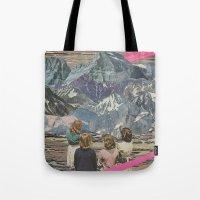 rocks Tote Bags featuring Rocks by Sarah Eisenlohr