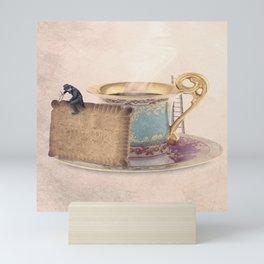 The biscuit sculptor Mini Art Print