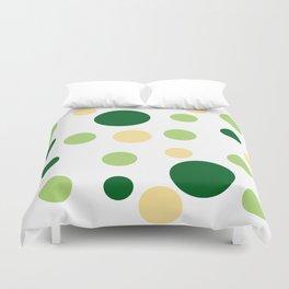 Green Pop Duvet Cover