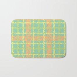 8 Bit plaid |Springtime Bath Mat