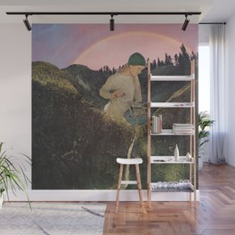Mineral Spring Wall Mural