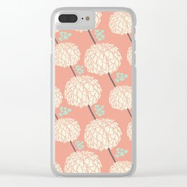 Sweet Petals Clear iPhone Case