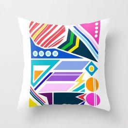 Geo Splash Throw Pillow