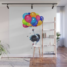 Ostrich can Fly Wall Mural