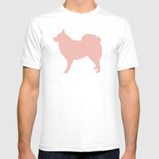 Icelandic sheepdog wall art print nursery MEDIUM Mens Fitted Tee White