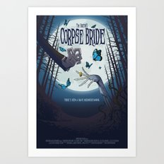 Alternative Movie Poster Art Print