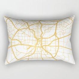 SAN ANTONIO TEXAS CITY STREET MAP ART Rectangular Pillow