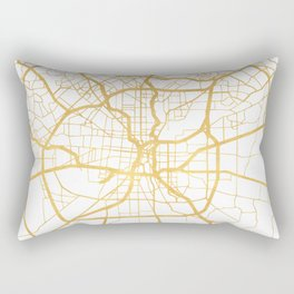 SAN ANTONIO TEXAS CITY STREET MAP ART Rectangular Pillow