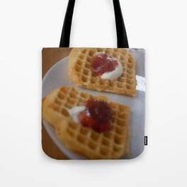 WafflesWithStrawberryJam Tote Bag