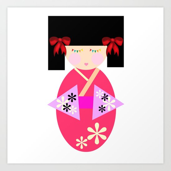 HARUMI Art Print