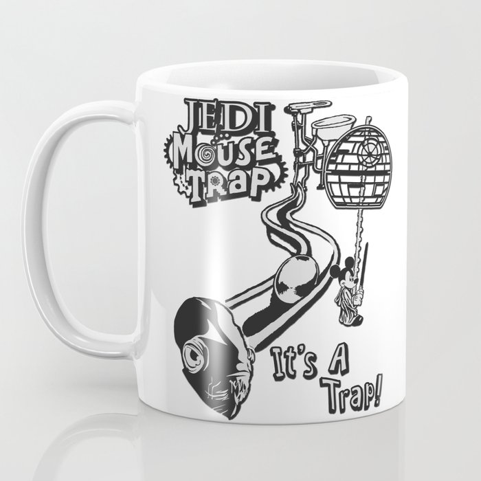 Jedi Mouse Trap Coffee Mug