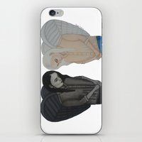 angels iPhone & iPod Skins featuring Angels by Vanessa Herrera