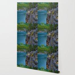 Horseshoe Lake in Jasper National Park, Canada Wallpaper
