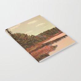 Grundy Lake Provincial Park Poster Notebook