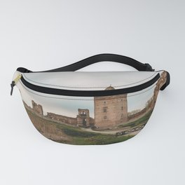 Old castle ruins Fanny Pack