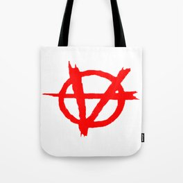 Vagenda Logo - Basic Red Tote Bag