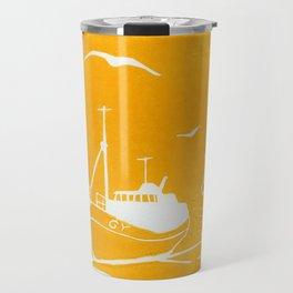 Comrades in Yellow Travel Mug