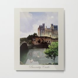 Bunratty Castle & Durty Nelly's Pub Metal Print
