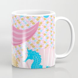 Living a Life as a Mermaid Coffee Mug