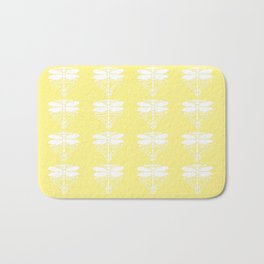 Canary Arts and Crafts Dragonflies Bath Mat