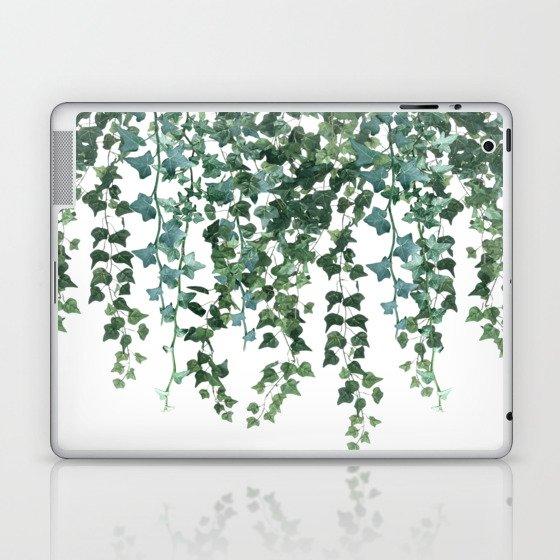Ivy Vine Drop Laptop & iPad Skin