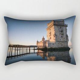 Belem Tower Rectangular Pillow
