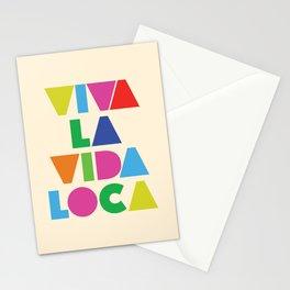 Viva la vida loca Stationery Cards