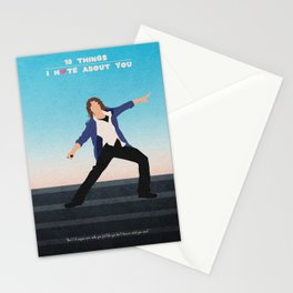 10 Things I Hate About You Stationery Cards