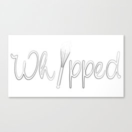 Whipped Canvas Print