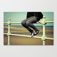 vans Canvas Prints featuring Vans by Zsolt Kudar